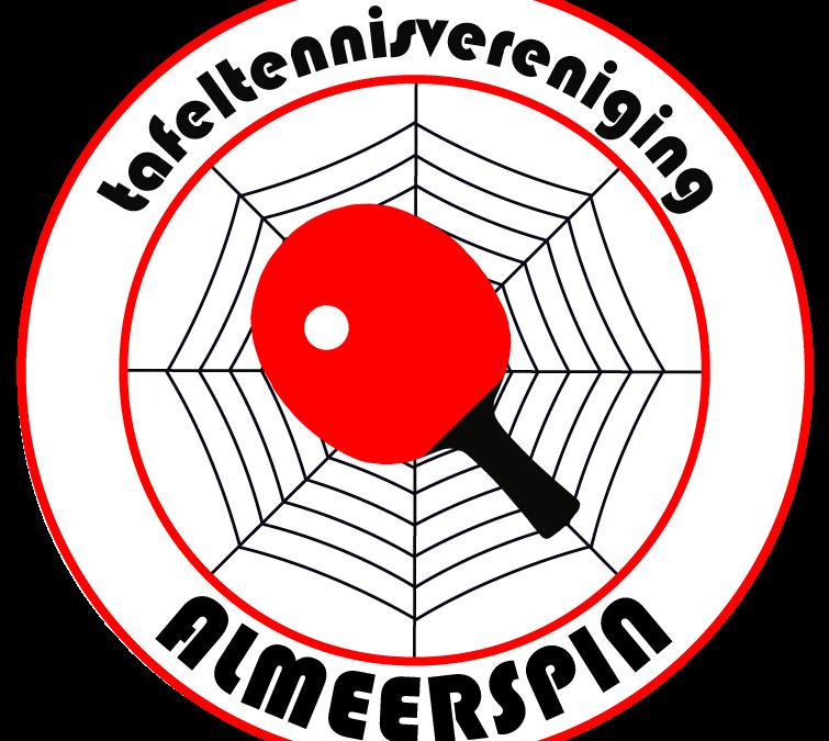 Tafeltennissers Zeta winnen van Almeerspin