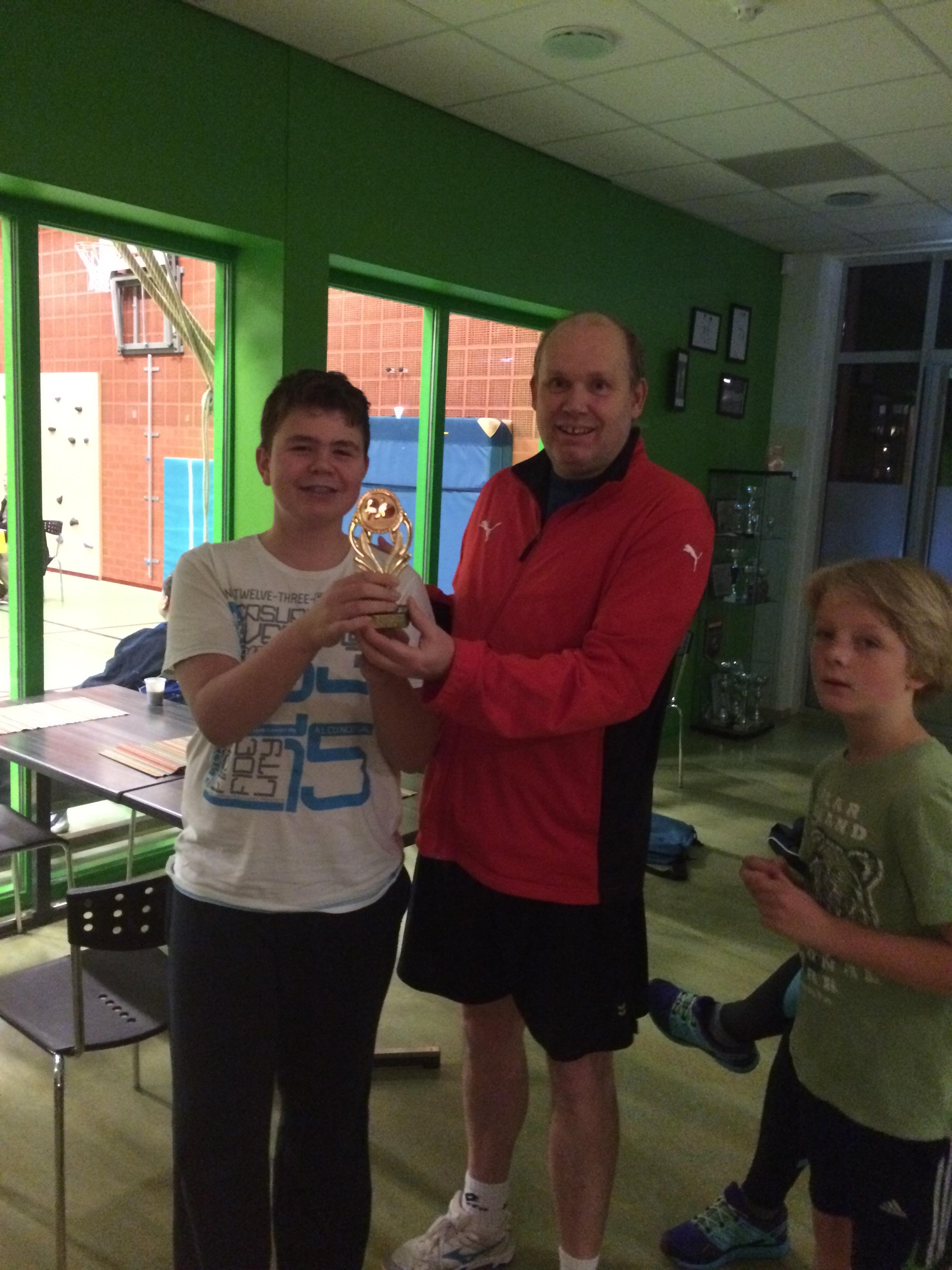 Kampioen Henk van der Hulst toernooi Junioren 2014