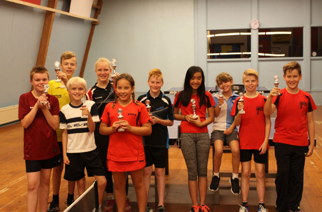 ZETA junioren in de prijzen bij Mini-Meerkamp SVE Utrecht