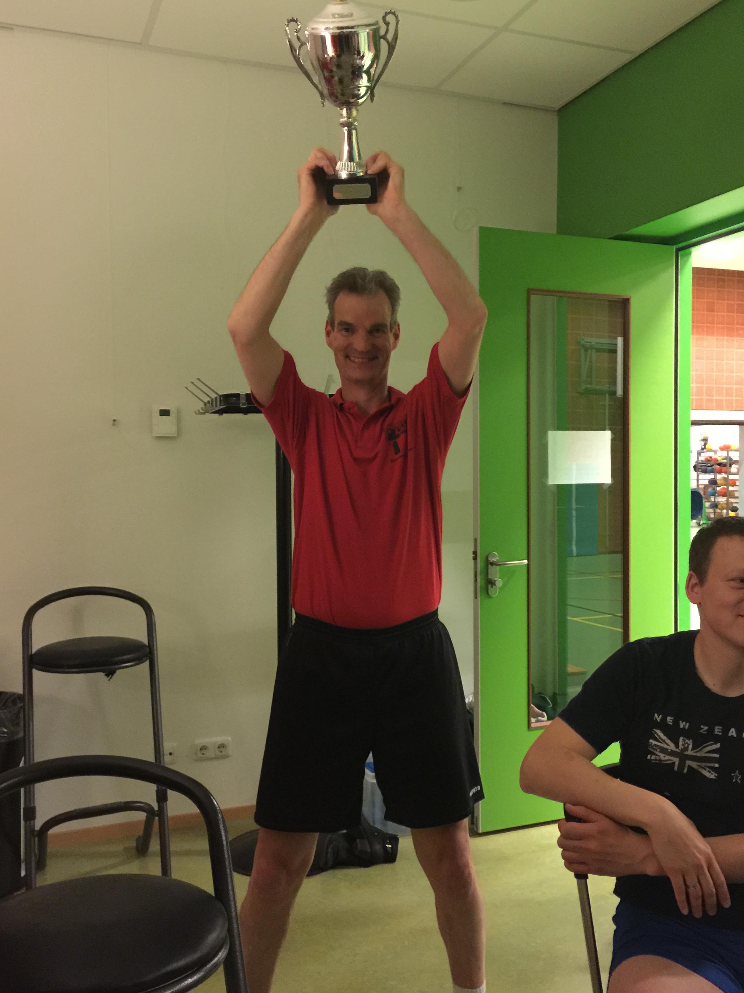 Clubkampioen Senioren 2014-2015: Gert-Jan Moerland